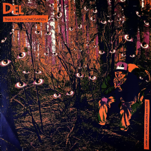 Del Tha Funkee Homosapien ‎- I Wish My Brother George Was Here  (LP) (VG-/G-VG)